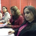 da esquerda para a direita: Claudia, Luciana, Renata e Paula