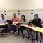 Visita à porf.  Liliana Jubilut, coordenadora da pesquisa Migrantes, Apátridas e Refugiados